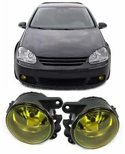 YELLOW FOG LIGHTS FOR VW GOLF MK 5 MK5 1K1 & JETTA 3 1K2 NICE GIFT