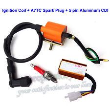 Racing Ignition Coil AC CDI Spark Plug For 50 70 90 110 125cc Pit Dirt Bike ATV