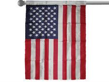 "Usa American White Sleeved Garden Banner/Flag 28""X40"" Sleeved Poly"