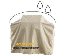 Grill Gasgrill Abdeckung Abdeckhaube BBQ 165 x 57 x 119 cm, 600D Qualität, beige