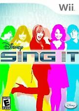 Nintendo Wii : Disney Sing It VideoGames