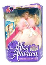 Barbie Mattel Miss America Doll Evening Gown Blair Pink Dress Kenner Vintage '91