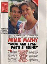 Coupure de presse Clipping 1994 Mimie Mathy & Yvan Burger  (4 pages)
