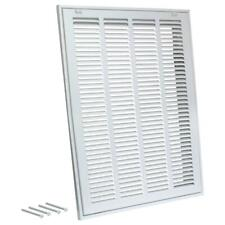 Ez-Flo 14 in. x 14 in. Steel Return Filter Grille