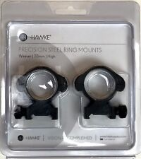 Hawke Precision Steel 30mm Weaver/ Picatinny Scope Ring Mounts