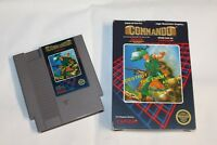 Commando (Nintendo Entertainment System, 1986) Box and game only 5 Screw cart
