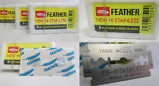 Feather Razors and Razor Blades