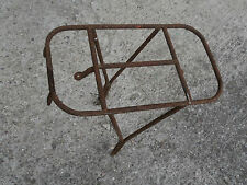 Porte bagage ancien pour cyclo vélo ancien...à nettoyer !!