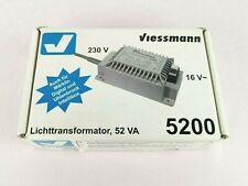 Viessmann 5200 Lichttransformator 52VA 230V Trafo Modelleisenbahn funktioniert