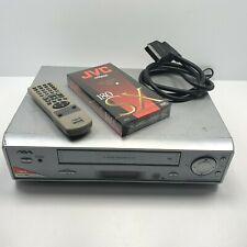 Aiwa HV-FX5950G VHS Video Player VCR Recorder 6 HEADS + Remote UK PAL 3 pin plug