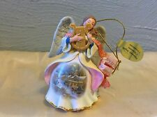 Heavenly Angels Christmas Ornament Joy to the World Danbury Mint with tag
