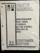 Hyster Parts Manual Electric E45-50-55-60-65XM (F108) 897561 10/96