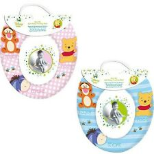 Disney Baby Soft Toilet Training Seat Winnie The Pooh & Friends - Blue - NEW