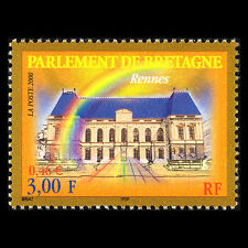 France 2000 - Building of the Parliament in Rennes Architecture - Sc 2766 MNH