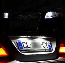 4 ampoules à LED Blanc Veilleuses Eclaireur plaque pour Audi A4 B7 Break Berline