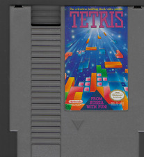 Tetris From Russia with Fun! Relentless Building Block Video Puzzle (NES 1989)
