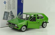 1974 VOLKSWAGEN VW GOLF I L VERDE 1:18 solido s1800203
