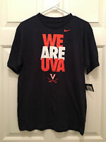 NWT Virginia Cavaliers Wahoos We Are UVA Nike Blue T-Shirt Youth XL