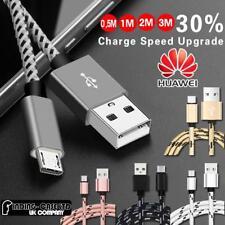 Para Huawei MediaPad Tablet-Micro USB Data Sync Cargador Cable de carga rápida
