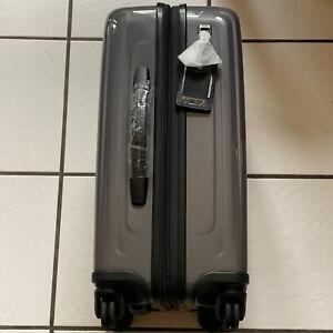 Tumi V4 International Expandable 4-Wheeled Iron Carry-On NWT $595