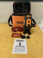 Johnson 40-6680 Dot Laser Level,Int/Ext,Red,200 ft.