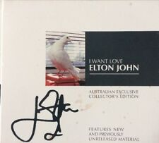 "ELTON JOHN ""I Want Love"" 2001 4Trk Australian Collector's Edition CD *No. 4608"