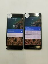Lot of 2 Google Pixel 2 G011A Unlocked Check Imei Poor Condition Hs-743