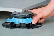 Jouplast Adjustable Pedestal risers Pack of 10 Ceramic/Paving support -50-80mm