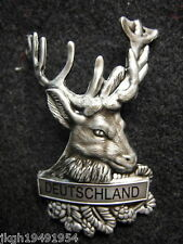 Deutschland Germany new mount shield badge stocknagel hiking medallion G9998