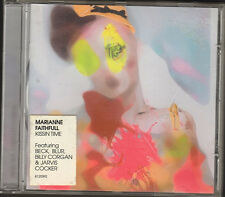 MARIANNE FAITHFULL Kissin Time CD NEW feat BLUR Billy Corgan BECK Jarvis Cocker