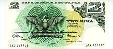 Papua New Guinea ... P-1a ... 2 Kina ... ND(1975) ... *AU*
