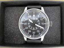 Luftwaffe Fliegeruhr Quartz Uhr Pilotenuhr Pilot Watch US Army Wehrmacht WK2 WW2