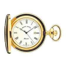 Enchapado En Oro de la mitad Hunter Reloj De Bolsillo por Mount Royal-Modelo No. B8