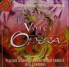 The voice of Opera Pavarotti Jessye Norman Domingo Carreras Caballe