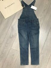 BURBERRY Girls Dungarees Jeans 8Y BNWT 100% Genuine