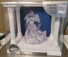 Taz Wilton Clear Bianca Figurine Topper w/ bonus Keepsake Display