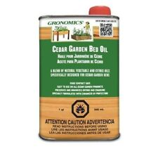 Gronomics GBO-1Q 1 Quart Cedar Garden Bed Oil