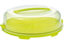 Rotho Kuchenbehälter Tortenglocke Behälter Kuchenbox Transportbox flach