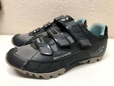 Bontrager EVO MTB WSD Mountain Bike Shoes EUR 40 US 8.5 Black Leather