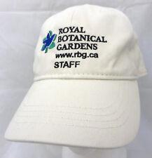 Royal Botanical Gardens STAFF Canada baseball cap hat adjustable v