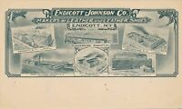 ENDICOTT NY - Endicott-Johnson Co. Makers of Leather and Leather Shoes - udb