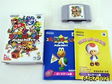 Complete Mario Party 1 Nintendo 64 Japanese Import Boxed N64 Japan US Seller B