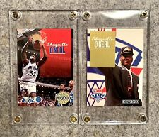 LOT OF (2) 1992-93 SkyBox SHAQUILLE SHAQ O'NEAL #382 #DP1 Rookie RC Mint HOF 2X