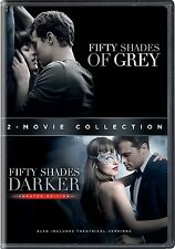 Fifty Shades of Grey + 50 Shades Darker:  Complete Movies 1 & 2 Box/DVD Set...