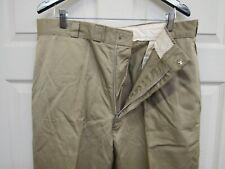 Vietnam Era Us Khaki Chino Trousers Pants 8.2 oz Cotton 1967 Dated 38 x 31