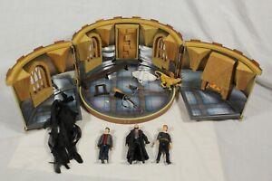 Harry Potter Room of Requirement Playset Action Figure Bundle Weasley Fenrir Lot