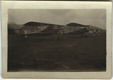 PHOTO ANCIENNE - VINTAGE SNAPSHOT - AVION SPAD ST CYR L'ECOLE - PLANE 1917