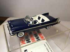 Western Models 1958 Plymouth Belvedere 1:43 Scale