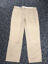 Polo Ralph Lauren Chinos Khaki Pants Mens Tag 38X32 Measure 37X30.5 Preston PJ22
