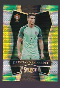 2016-17 Panini Select Soccer CRISTIANO RONALDO Field Level TRI Color PRIZM MINT+